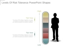 Levels Of Risk Tolerance Powerpoint Shapes