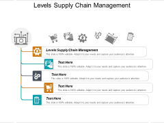 Levels Supply Chain Management Ppt PowerPoint Presentation Layouts Template Cpb