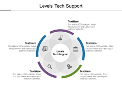 Levels Tech Support Ppt PowerPoint Presentation Model Shapes Cpb