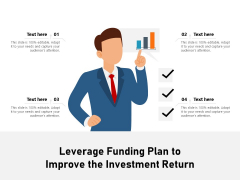 Leverage Funding Plan To Improve The Investment Return Ppt PowerPoint Presentation Professional Graphics Design PDF