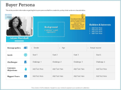 Leveraged Client Engagement Buyer Persona Guidelines PDF