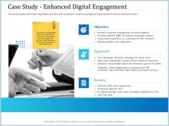 Leveraged Client Engagement Case Study Enhanced Digital Engagement Formats PDF
