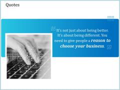 Leveraged Client Engagement Quotes Demonstration PDF