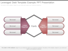 Leveraged Debt Template Example Ppt Presentation