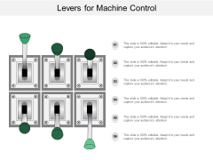 Levers For Machine Control Ppt PowerPoint Presentation Infographic Template Visual Aids