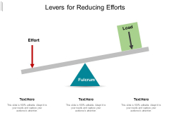 Levers For Reducing Efforts Ppt PowerPoint Presentation Professional Slides