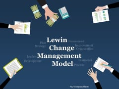 Lewin Change Management Model Ppt PowerPoint Presentation Complete Deck With Slides
