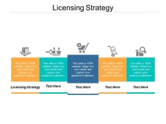 Licensing Strategy Ppt PowerPoint Presentation Templates