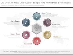 Life Cycle Of Price Optimization Sample Ppt Powerpoint Slide Images