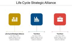 Life Cycle Strategic Alliance Ppt PowerPoint Presentation Portfolio Slides Cpb Pdf