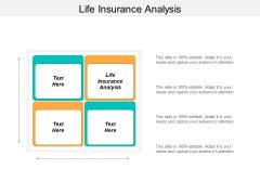 Life Insurance Analysis Ppt Powerpoint Presentation Portfolio Sample Cpb