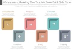 Life Insurance Marketing Plan Template Powerpoint Slide Show