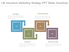 Life Insurance Marketing Strategy Ppt Slides Download