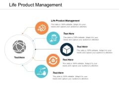 Life Product Management Ppt PowerPoint Presentation Infographics Elements Cpb