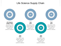 Life Science Supply Chain Ppt PowerPoint Presentation Icon Information Cpb Pdf