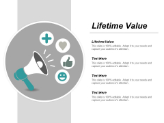 Lifetime Value Ppt PowerPoint Presentation Outline Outfit Cpb