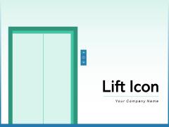 Lift Icon Businessman Arrows Ppt PowerPoint Presentation Complete Deck