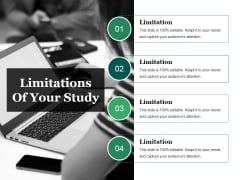 Limitations Of Your Study Ppt PowerPoint Presentation Ideas Structure