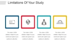 Limitations Of Your Study Ppt PowerPoint Presentation Infographic Template Inspiration