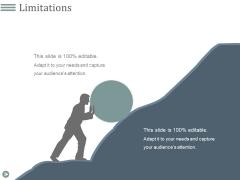 Limitations Ppt PowerPoint Presentation Ideas Grid