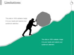 Limitations Ppt PowerPoint Presentation Show