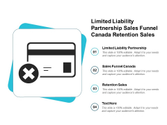 Limited Liability Partnership Sales Funnel Canada Retention Sales Ppt PowerPoint Presentation Show Graphics