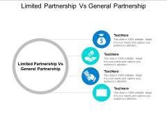 Limited Partnership Vs General Partnership Ppt PowerPoint Presentation Summary Structure Cpb