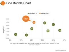 Line Bubble Chart Ppt PowerPoint Presentation Professional Infographic Template