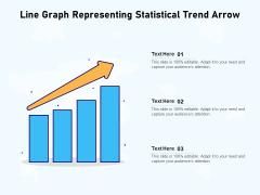 Line Chart Illustrating Business Statistical Trends Ppt PowerPoint Presentation Outline Deck PDF
