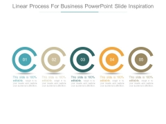 Linear Process For Business Powerpoint Slide Inspiration