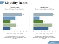 Liquidity Ratios Template 2 Ppt PowerPoint Presentation File Topics