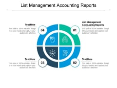 List Management Accounting Reports Ppt PowerPoint Presentation Templates Cpb Pdf