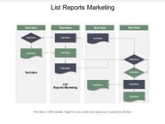 List Reports Marketing Ppt PowerPoint Presentation Inspiration Layout Ideas Cpb