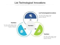 List Technological Innovations Ppt PowerPoint Presentation File Designs Cpb Pdf