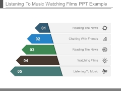 Listening To Music Watching Films Ppt Example
