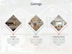 Listings Ppt PowerPoint Presentation File Visuals