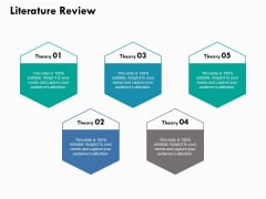Literature Review Ppt PowerPoint Presentation Model Graphics Tutorials