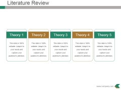 Literature Review Ppt PowerPoint Presentation Show Introduction