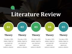 Literature Review Ppt PowerPoint Presentation Visual Aids Show