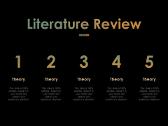 Literature Review Ppt PowerPoint Presentation Visual Aids Styles