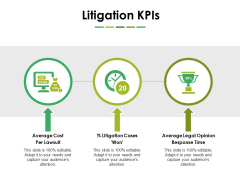 Litigation Kpis Ppt PowerPoint Presentation Model Portrait