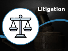 Litigation Ppt PowerPoint Presentation Icon Example Topics