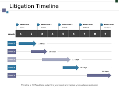 Litigation Timeline Ppt PowerPoint Presentation File Images