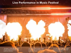 Live Performance In Music Festival Ppt Powerpoint Presentation Summary Objects