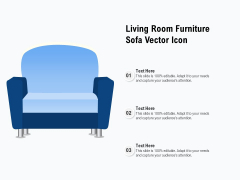 Living Room Furniture Sofa Vector Icon Ppt PowerPoint Presentation Gallery Backgrounds PDF