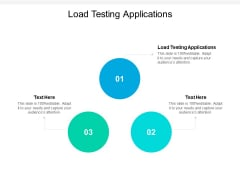 Load Testing Applications Ppt PowerPoint Presentation File Templates Cpb