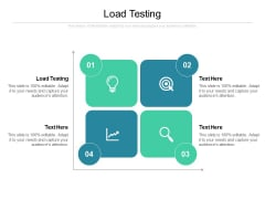 Load Testing Ppt PowerPoint Presentation Show Objects Cpb