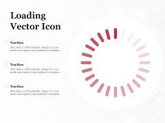 Loading Vector Icon Ppt PowerPoint Presentation Ideas Influencers