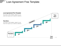 Loan Agreement Free Template Ppt PowerPoint Presentation Styles Display Cpb