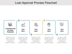 Loan Approval Process Flowchart Ppt PowerPoint Presentation Pictures Slide Portrait Cpb Pdf